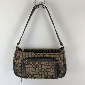 Liz & Co One Shoulder Strap Handbag Brown Purse